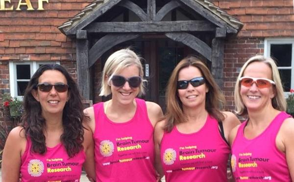 Brain tumour survivor takes on triathlon challenge