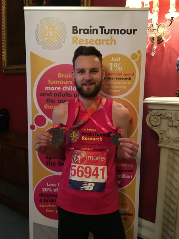 Pâtissier completes London Marathon in memory of grandmother lost to brain tumour