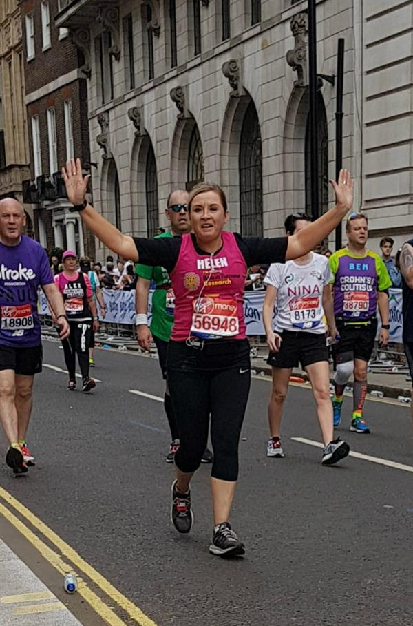 Daughter remembers her late mother with London Marathon challenge - post-event