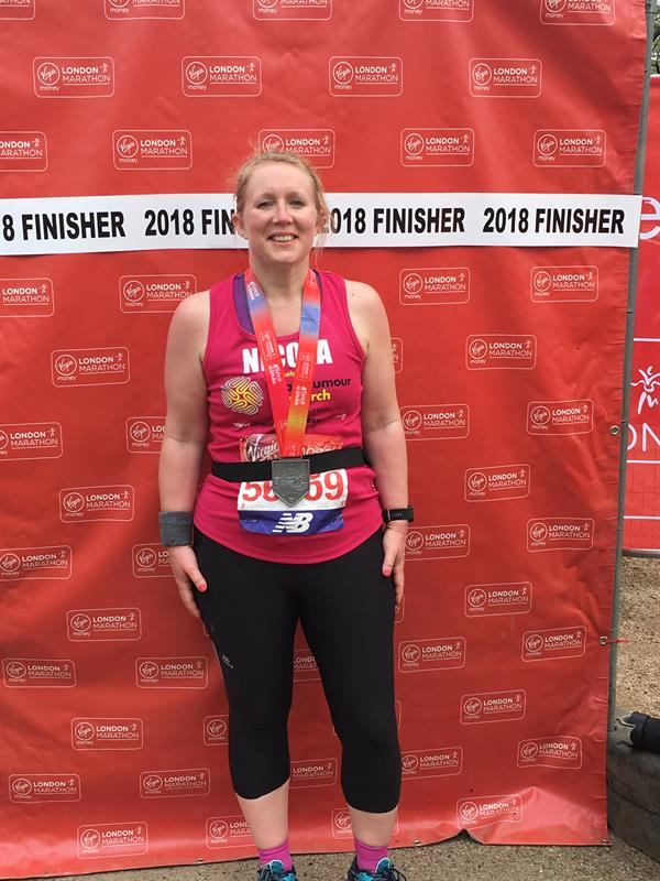 Senior Met officer lost to brain tumour inspires daughter's London marathon challenge - post event