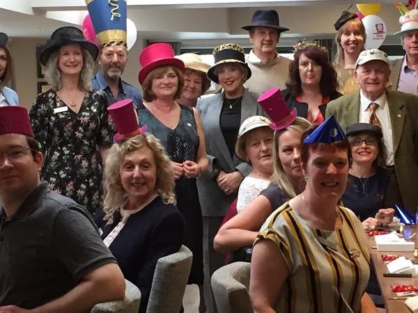 Buckingham goes hat-crazy for Brain Tumour Research
