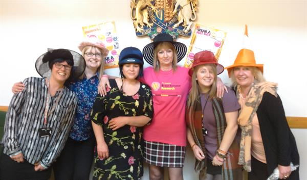 Daughter's brain tumour diagnosis inspires Wendy to get her Hat on for Brain Tumour Research!