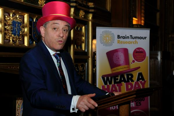 John Bercow: Our thanks to a brain tumour champion