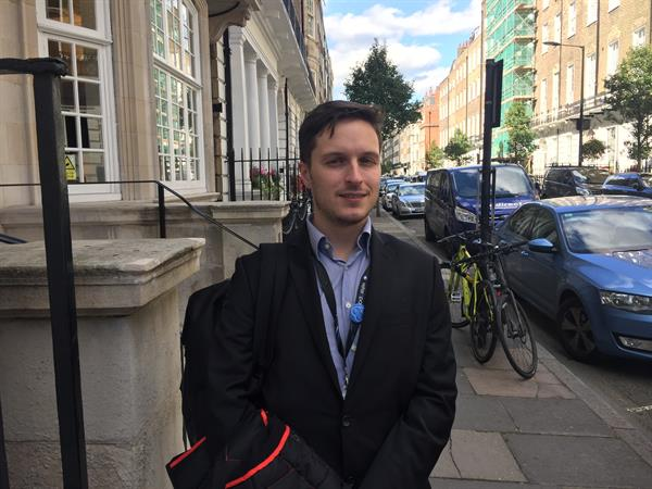 Two minutes with… Giulio Anichini - Neuro-oncology Research Fellow from our Centre of Excellence at Imperial College of London