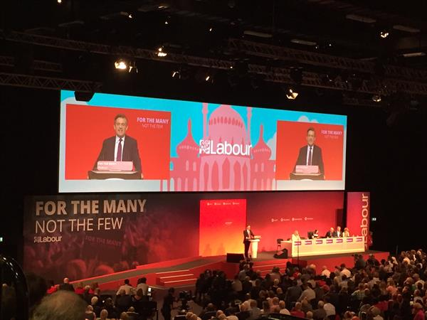 Labour Conference 2017 Blog