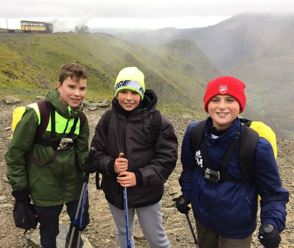 Schoolboys take on Ben Nevis in support of Brain Tumour Research