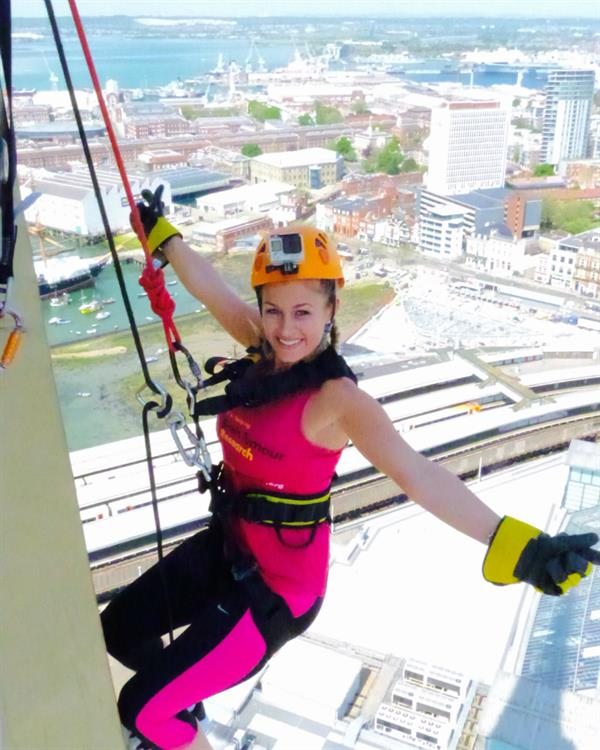 Combat nerves and take on new heights in aid of Brain Tumour Research