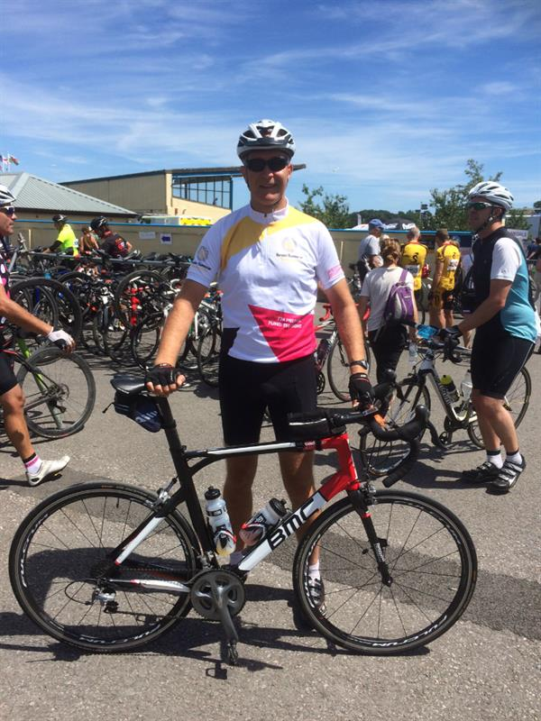 Neuroscientist takes on 100-mile cycle challenge to help find a cure for brain tumours