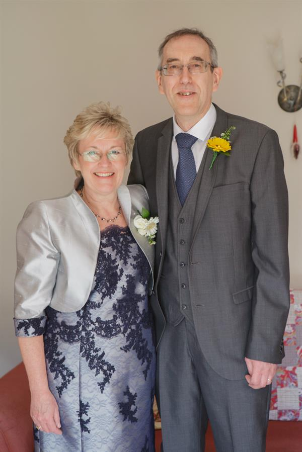 Harlington widow tells the story of her beloved husband's battle with a brain tumour as she faces the first anniversary of his loss