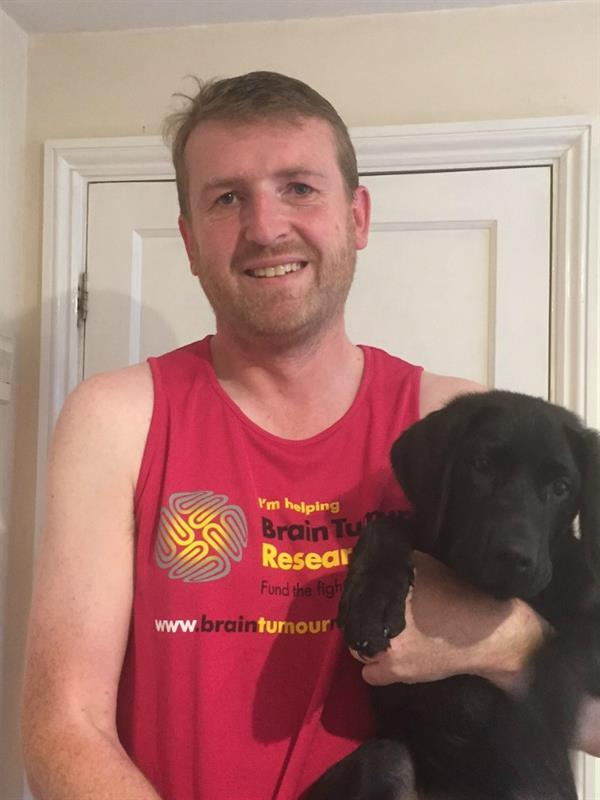 Losing dad to brain tumour inspires marathon challenge