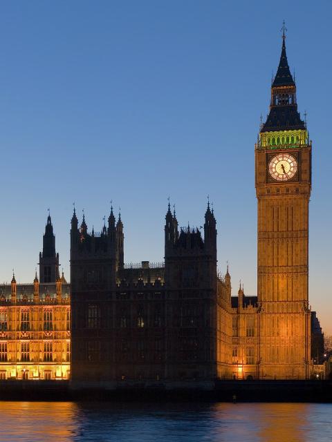 Westminster Skyline at night