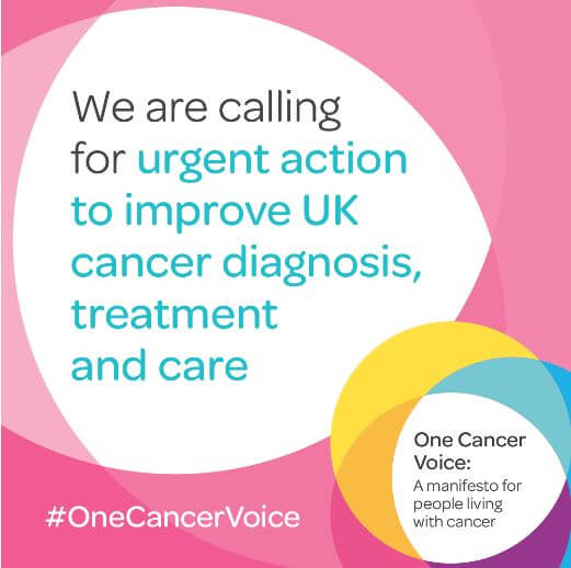 One Cancer Voice: A manifesto for people living with cancer