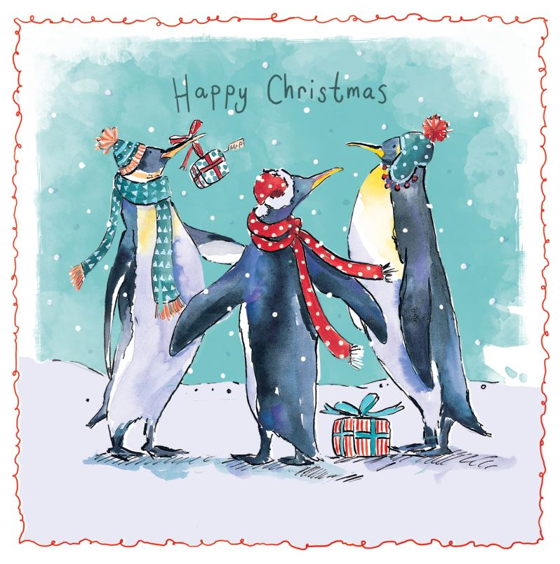 Dancing Penguins CA4382