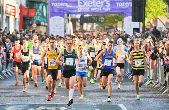 Exeter's Great West Run