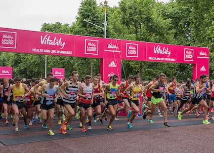 Vitality London 10,000 - FREE PLACES!