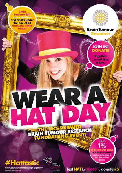 Wear A Hat Day 2017 Standard Poster