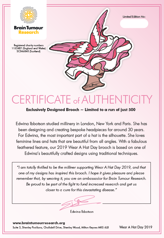 Noel Stewart Certificate of Authenticity