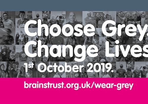 Going grey to help brain tumour patients and their families