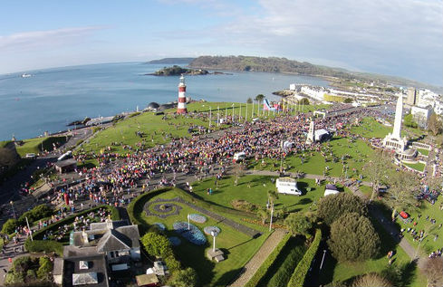 Britain's Ocean City Half Marathon, Plymouth