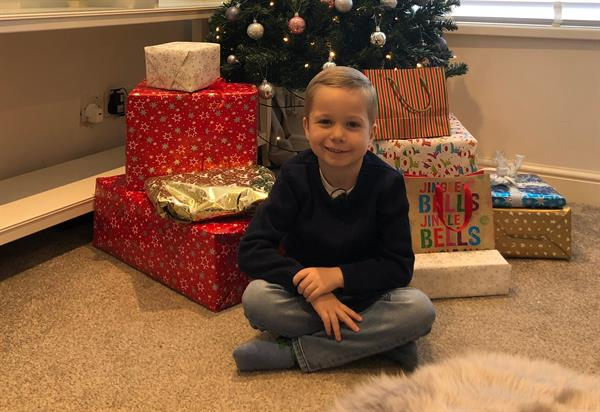 Brave Bobby launches Christmas appeal after brain tumour treatment