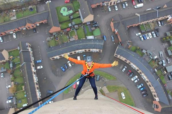 Northampton Lift Tower Abseil - July