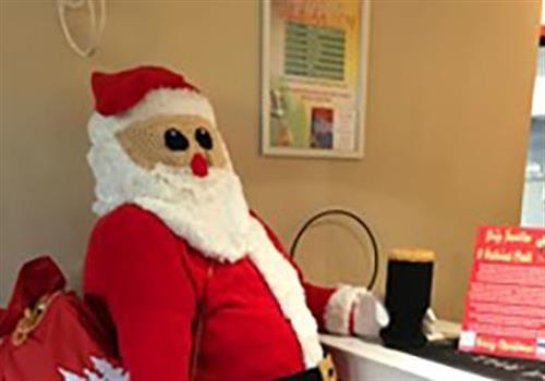 Santa helping raise funds for deserving causes