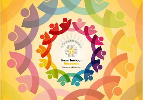 Brain Tumour Research is celebrating its 10th anniversary!
