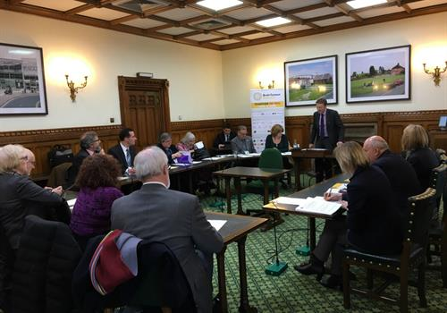 Opportunity to involve your MP in the fight against brain tumours