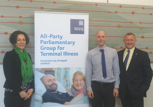 Brain Tumour Research gives evidence to APPG for Terminal Illness