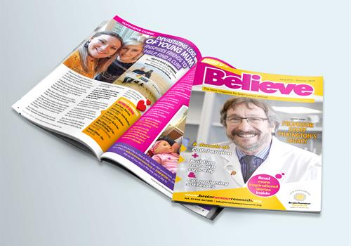 New Summer Believe magazine available now