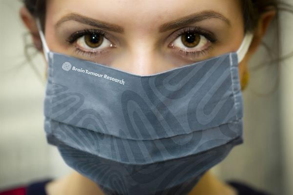 Breathe easy and support our work – branded face masks now available
