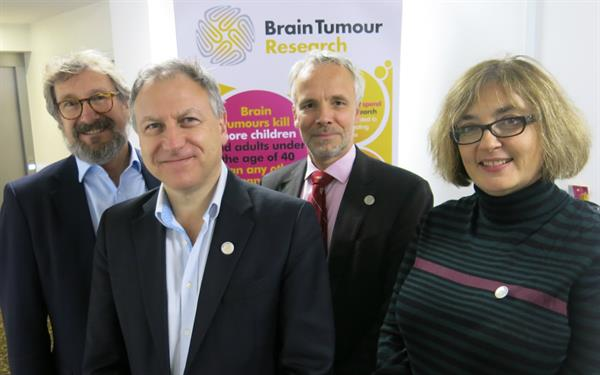 Brain Tumour Research Centre Leads get together for collaborative talks