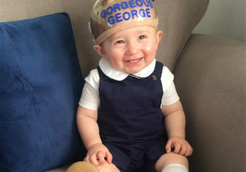 Parents share terrifying ordeal of baby's brain tumour diagnosis