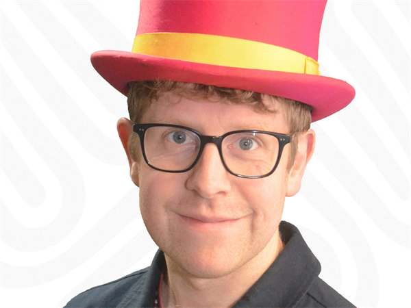 Josh Widdicombe supports Wear A Hat Day 2020