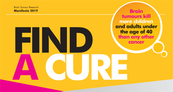 MPs show support for Brain Tumour Research's new manifesto