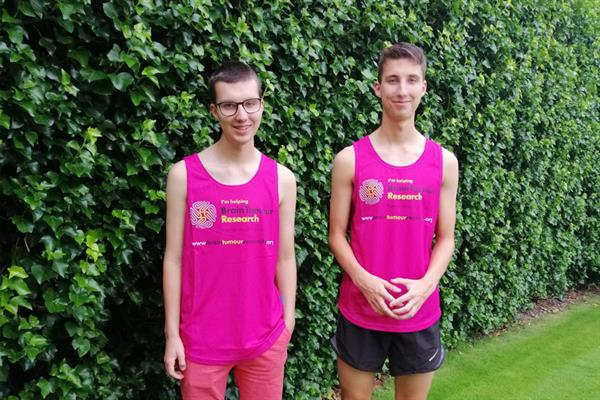 Teenager organising nationwide virtual relay run in support of twin