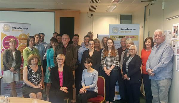 Brain Tumour Research hosts annual workshop for Member Charities