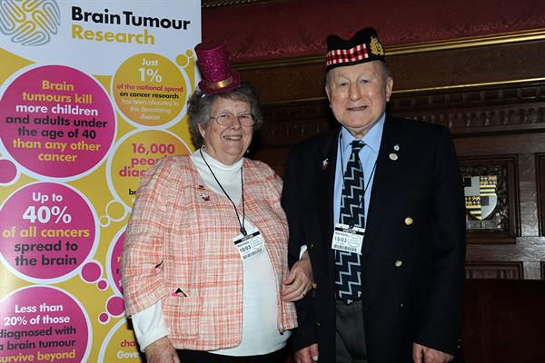 Honour for Brain Tumour Research Life President
