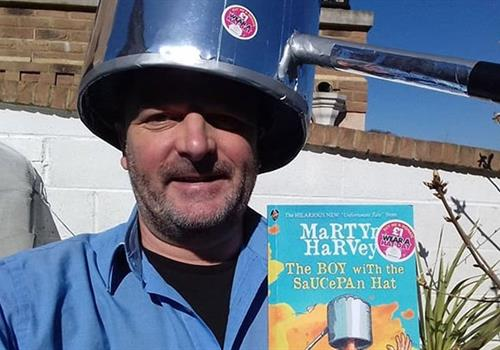 Author's livestreaming fundraiser will help keep kids entertained this Wear A Hat Day