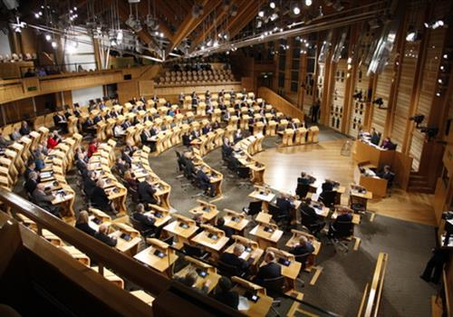 Scottish Parliament debate on brain tumour awareness