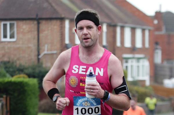 Dedicated supporter succeeds in target to run 1,000 miles