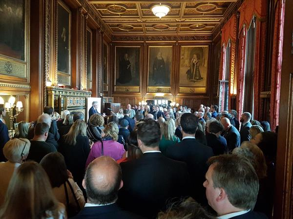 Speakers' House event celebrating our 10th anniversary and launch of our Find A Cure Manifesto