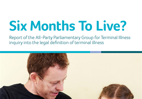All-Party Parliamentary Group on Terminal Illness final report