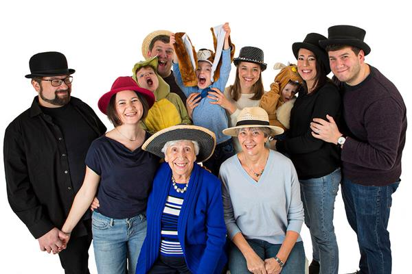 Introducing our families who are sharing their stories this Wear A Hat Day