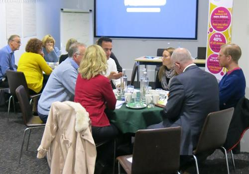 First brain tumour campaigners' workshop
