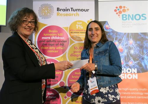 Brain tumour researcher receives Young Investigator Award
