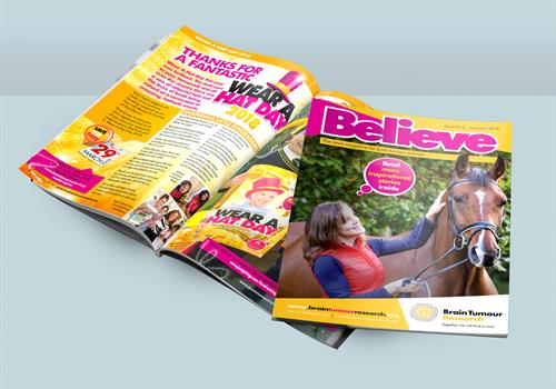 New Believe magazine available now