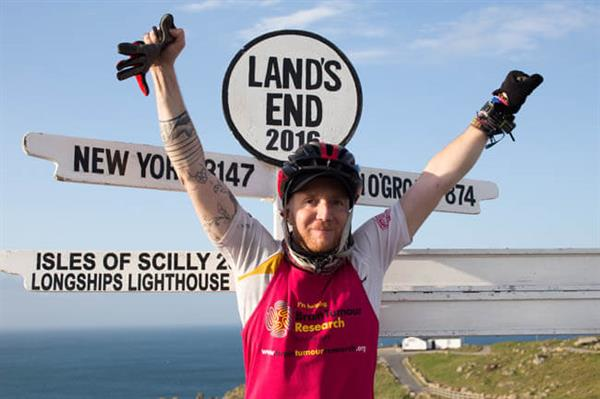 Ben Lindon at Lands End
