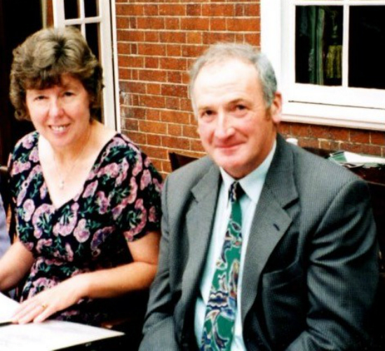 John Riches and wife Pamela