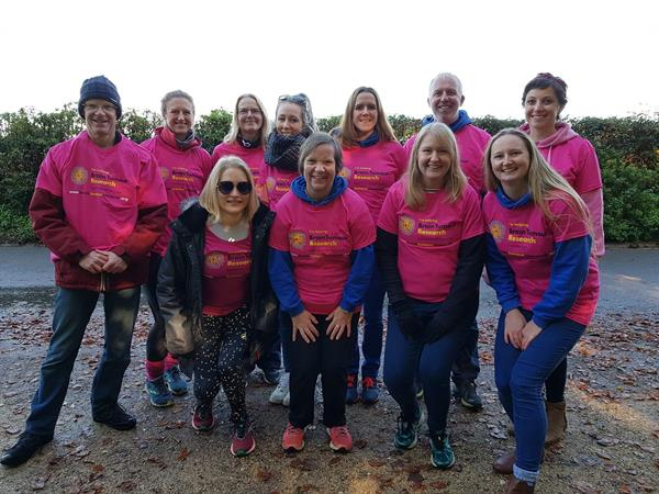 Two dozen runners complete Stroud Half Marathon in support of dad-of-five